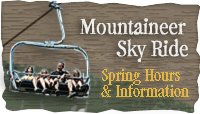Mountaineer Sky Ride graphic navigation