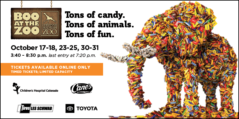 Boo at the Zoo - timed etickets are on sale now!