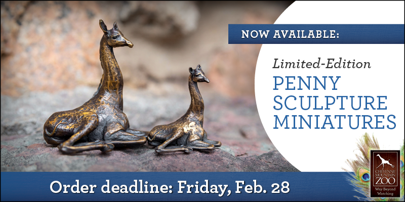 Limited-Edition Penny Sculpture Miniatures, - Order deadline: Friday, Feb. 28