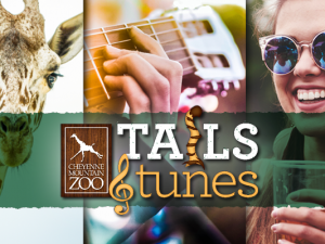Tails & Tunes logo and graphic 2021