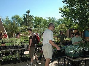 Annual Plant Sale at the Zoo, featuring a variety of plants