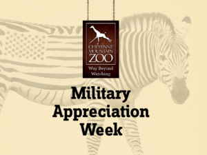 Military Appreciation Week graphic logo