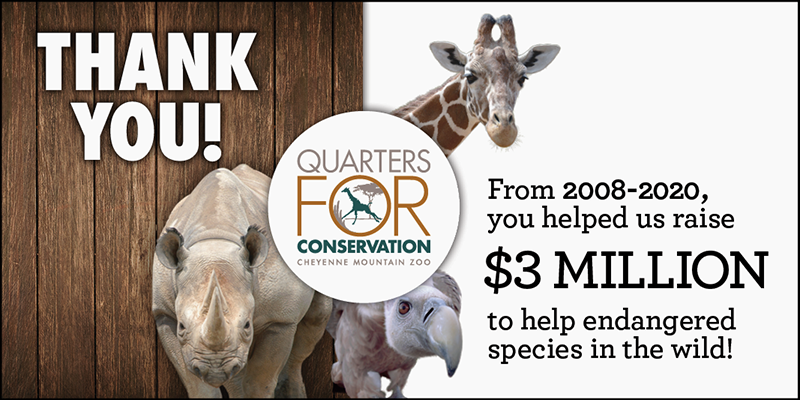 $3 million raised for Quarters for Conservation!