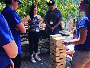 Teen workshop with Jenga on leadership and networking