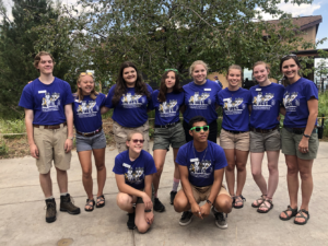 Youth Advisory Board at Annual Youth Conservation Leadership Conference