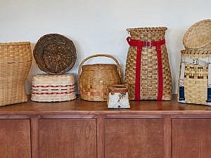 basket styles woven by women in class